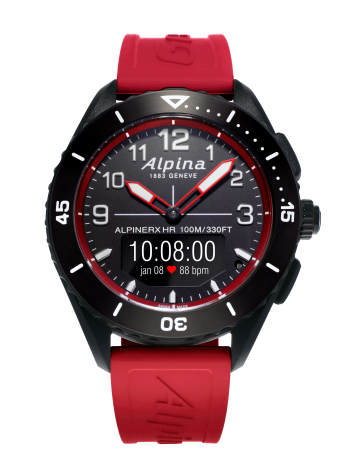 AlpinerX Alive - Silicone rouge - Alpina